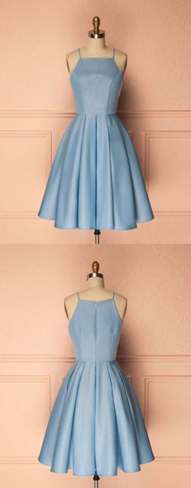 short homecoming dresses,light blue homecoming dresses,simple homecoming dresses,graduation dresses @simpledress2480