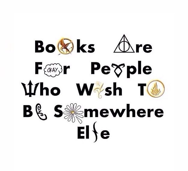 Fandom: Hunger Games, Harry Potter, Looking For Alaska, Paper Towns, The Fault in Our Stars, Divergent, and more
