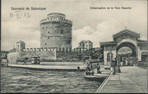 Selanik Beyaz Kale ve İskele 1910