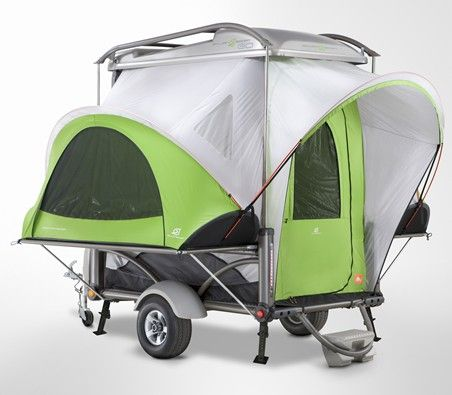 OMG - I want this!!!: Adventure Gears, Camps Gadgets, Campers Trailers, Travel Trailers, Camps Trailers, Camps Games, Minis Campers, Camping Trailers, Florida Koa