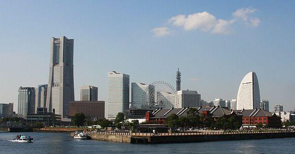 Yokohama. Every train trip we took went through Yokohama. Seemed we were always on the Yamanote line. :)