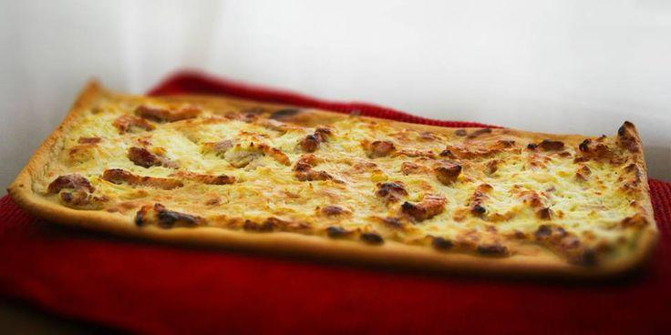 Bli kjent med pizzaens avlange, hvite fetter.