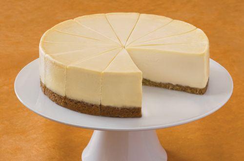 Simple Plain Cheesecake