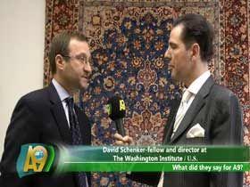 David Schenker, Washington Enstitüsü'nde Akademisyen ve Direktör, ABD Video