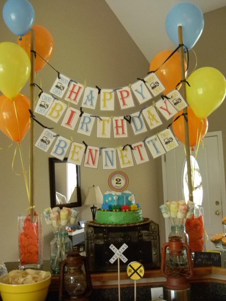 Vintage train birthday party: Training Boys, Train Birthday Parties, Vintage Training Birthday, Birthday Boys, Training Birthday Parties, Parties Ideas, 2Nd Birthday, Boys Baby, Birthday Ideas