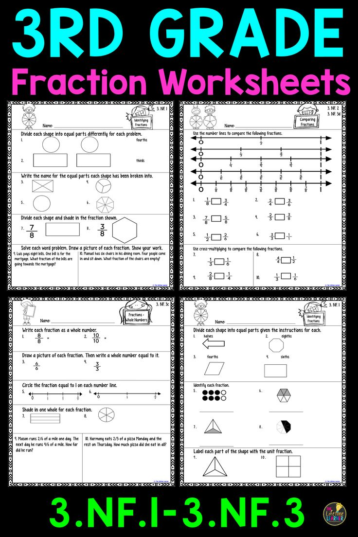 The 25 Best Fractions Worksheets Ideas On Pinterest