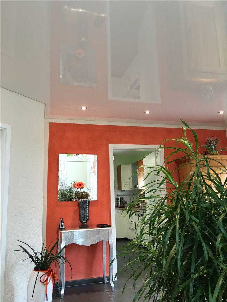 Die besten 25+ Roten wände Ideen auf Pinterest Rotes zimmer - orange wand wohnzimmer