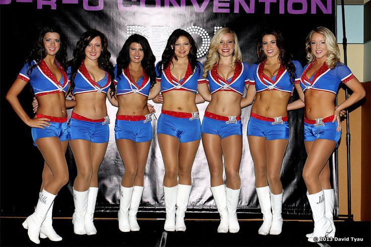 Thought differently, Buffalo bills cheerleaders join. agree