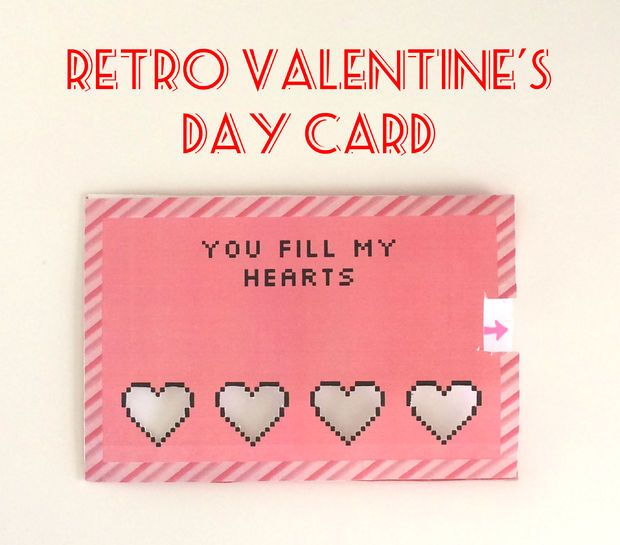Picture of Retro Valentine's Day Card