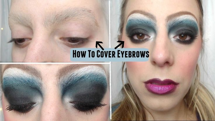 How to Cover Eyebrows : Drag Queen Tutorial // Issy Condello