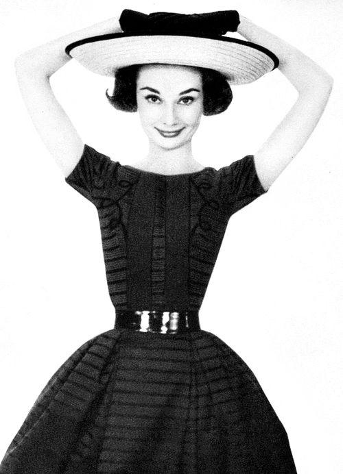 Audrey Hepburn by Richard Avedon for Harper's Bazaar, 1957.
