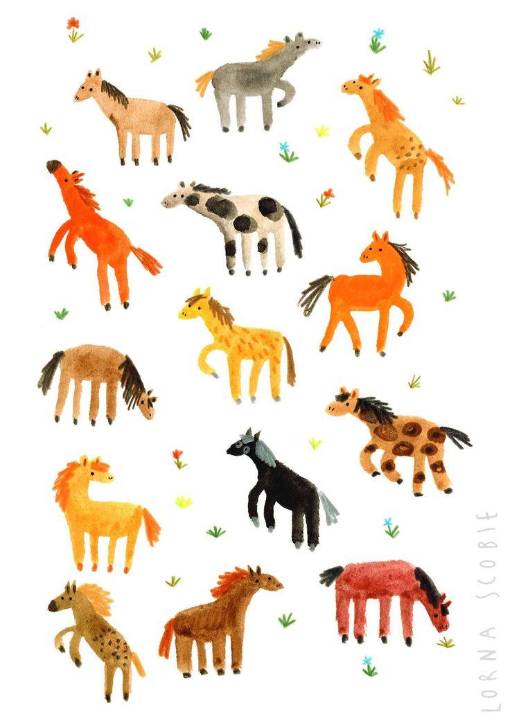 Lorna Scobie - Wild Horses