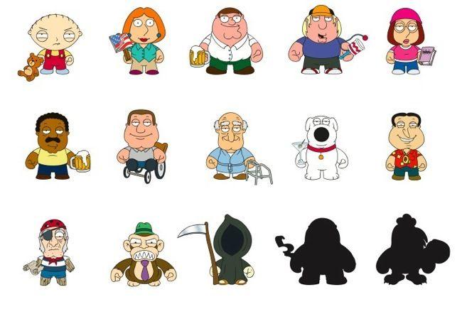 торт гриффины персонажи имена с картинками получила положительное