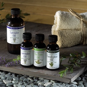 essential oil site for making your own bath salts