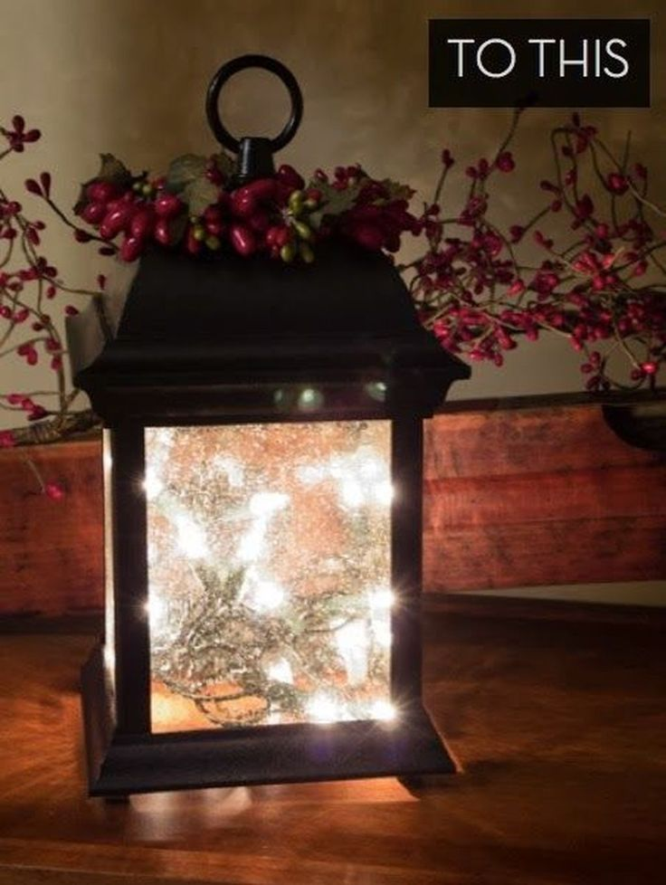 Awesome 88 Amazing Christmas Lantern Ideas for Indoor Decoration. More at http://88homedecor.com/2017/12/24/88-amazing-christmas-lantern-ideas-indoor-decoration/