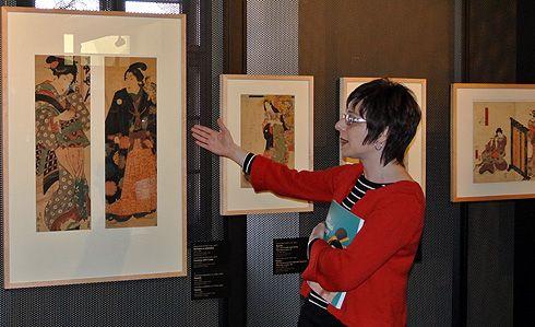Krasavice i válečníci. Olomoucká výstava představuje japonské umění 19. století