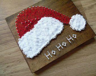 Image result for string art christmas