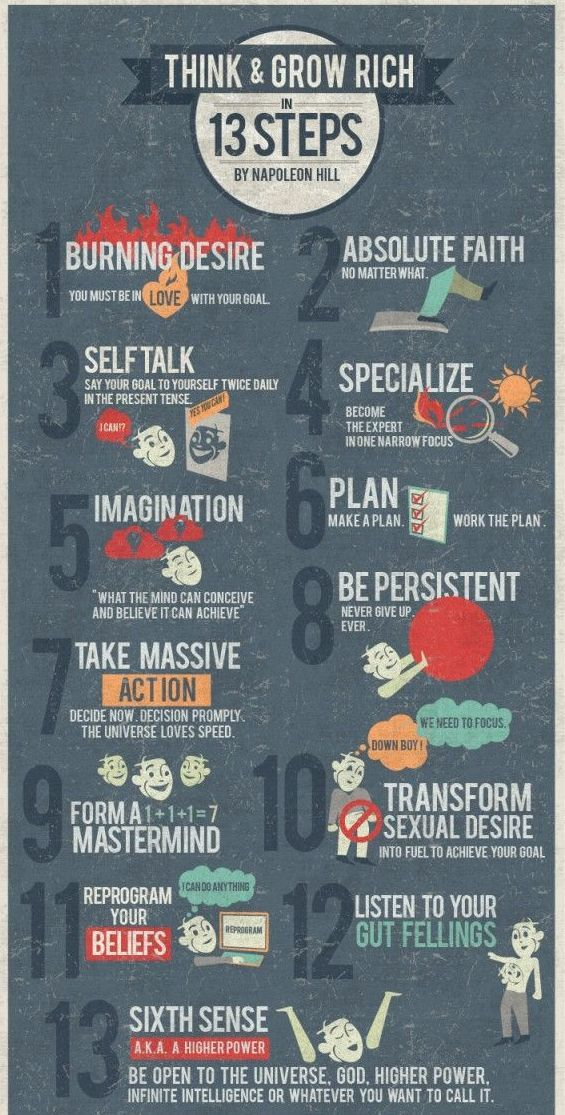 Think and grow rich in 13 steps for your BUSINESS! :)  www.theBEgirls.com