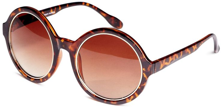 Quay Eyewear Australia 1543 Round Frame Sunglasses Torteshell One Size: Amazon.co.uk: Clothing