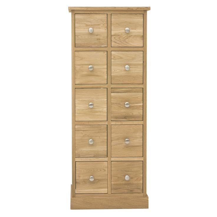 Light Oak Chest of Drawers - Bedroom