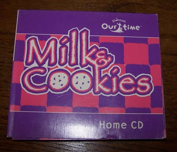 KINDERMUSIK OUR TIME - 2 CD Set - MILK & COOKIES - VG condition!