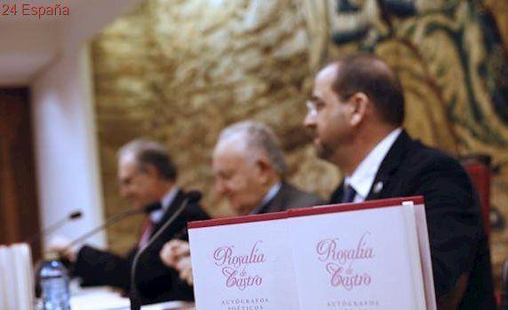Una obra recopila los manuscritos poéticos de Rosalía de Castro