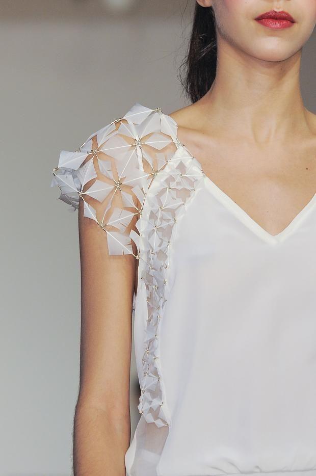 Christine Phung Ready To Wear Fall/Winter 2014 details. Paris Fashion Week.
