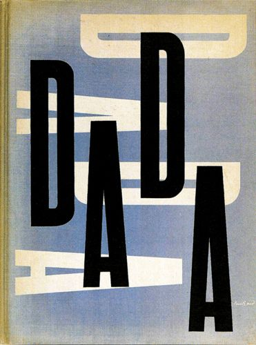 "Paul Rand cover design for ""The Dada Painters and Poets"" 1951, published by Wittenborn & Schultz.  This really was an awakening for American..."