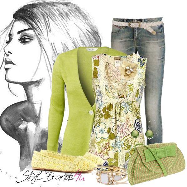 Jar klope na dvere, malá inšpirácia pre Vás dámy ... :) #brands4u #moda #outfit