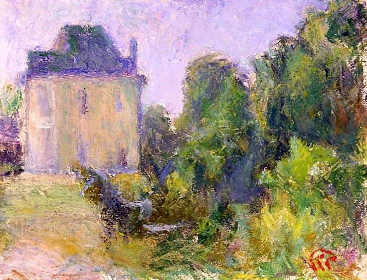 Sigrid Schauman - Landscape from France
