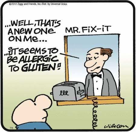 gluten free jokes