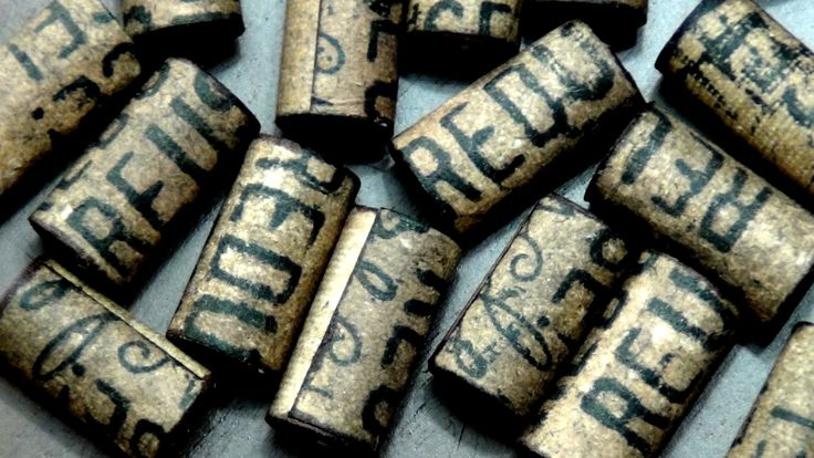 ♻ How To Make Paper Beads - Stamped Vintage Tubes