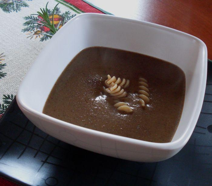 Soup-cream of Polish mushrooms