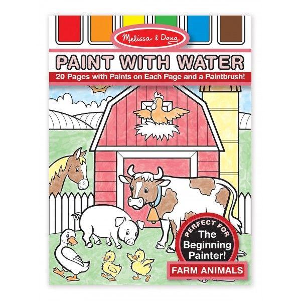 Malování s vodou – zvířátka z farmy - 3TL s.r.o.
