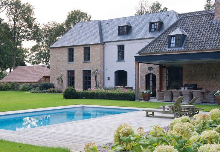 Home Sweet Home » Hedendaags-klassiek landhuis in het groen