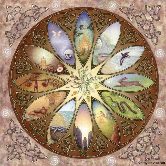Celtic Calendar  Meraylah Allwood