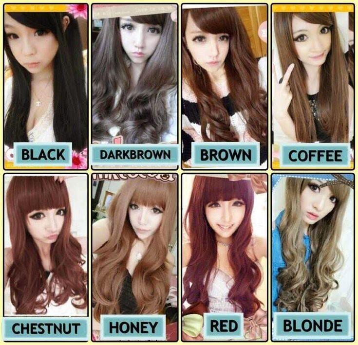 Greeny Pinky Butter: Rambut Hitam ke Coklat - My Browny Hair