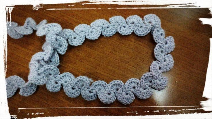 Como hacer un cinturón de ganchillo o crochet.