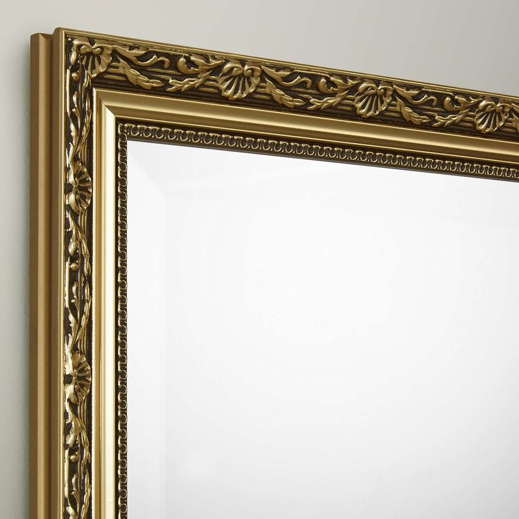 BuyJohn Lewis Elizabeth Gold Wall Mirror, Gold, 48 x 38cm Online at johnlewis.com
