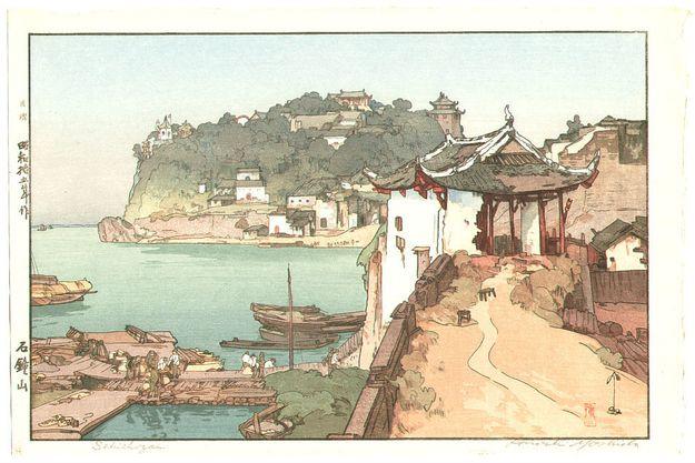 """Sekishozan"" | 24 Japanese Woodblock Prints That Will Take Your Breath Away"