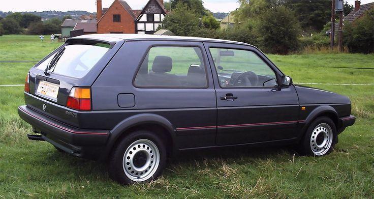 Volkswagen Golf MK 2, bad car 😝