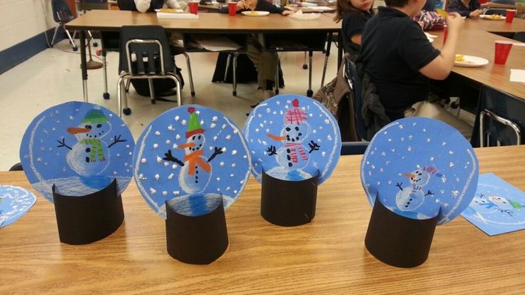 Free standing snow globes   Winter art   Pinterest   Winter snow, Cards and Globes