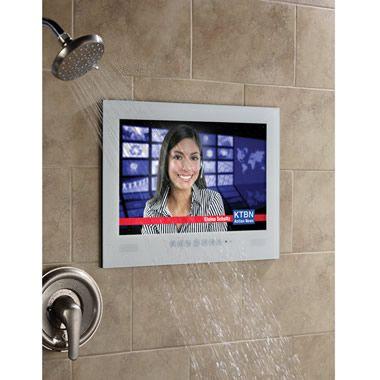 The Home Spa Waterproof Television - Hammacher Schlemmer