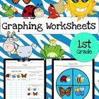 Graphing Worksheets Bundle - This product includes 8 science themed graphing worksheets and 8 science themed spinner wheels. It is to be used as a ...