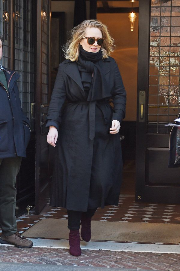 Adele's Style Evolution Proves Her Loyalty To The Little Black Dress