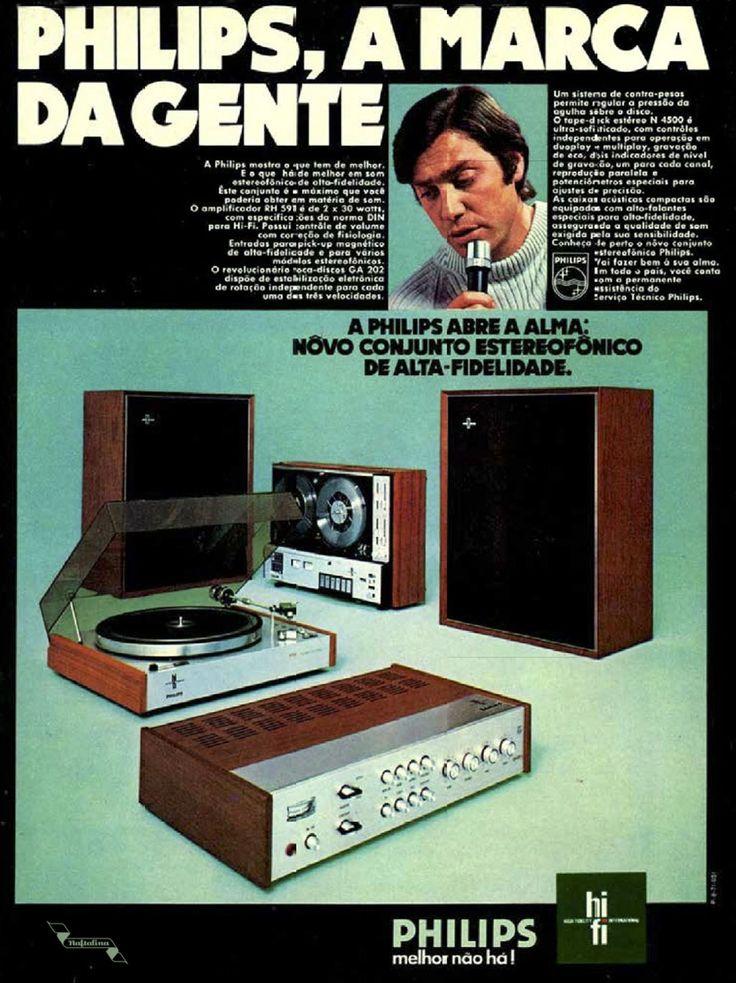 Philips, a marca da gente #Brasil #anos70 #retro #anunciosAntigos #vintageAds