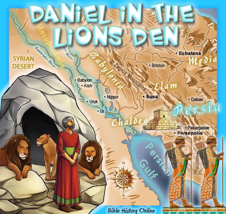 子供のためのダニエルライオンズデンの地図