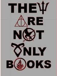 Wenn man wirklich dadrüber nachdenkt, haben Bücher für jeden einzelnen eine andere Bedeutung. Für mich sind sie aufjedenfall eine Flucht aus der Realität. Ich wünschte es gäbe mehr Bücher wie Percy Jackson, Harry Potter, Hunger Games, Kroniken der Unterwelt und Divergent.