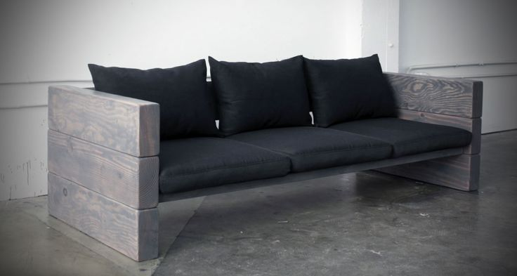 Buying pre-made outdoor patio furniture can be expensive, but this DIY outdoor sofa can be made in a day using basic supplies from your home store.