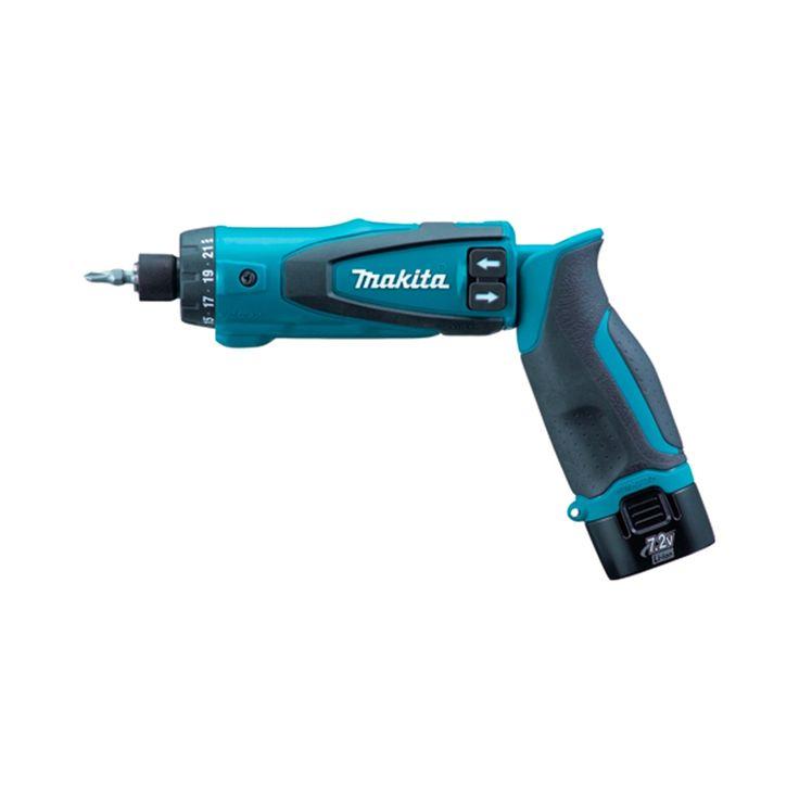 Makita DF010DSE atornillador recto a batería 7,2V Litio 650 rpm